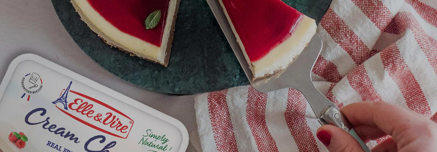 Discover our cream cheese