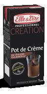 Pot de crème au chocolat Valrhona® origine Equateur