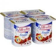 Dessert lacté à la cerise