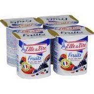 Dessert lacté aux fruits des bois