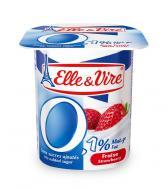 Dessert lacté à la fraise 0,1%