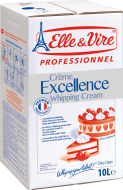 EXCELLENCE WHIPPING CREAM 35% FAT 10 Litres
