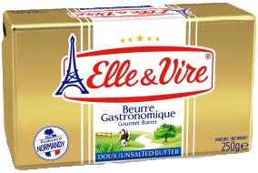 Beurre Gastronomique Doux 250 g