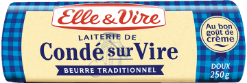 Le Beurre de Condé-sur-Vire doux