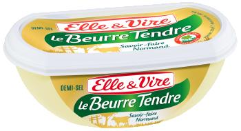 Le Beurre Tendre Barquette demi-sel