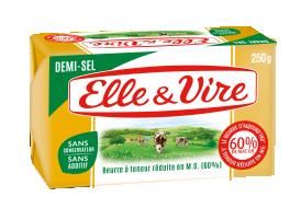 La Plaquette 60% demi-sel