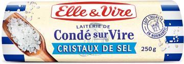 Le Beurre de Condé-sur-Vire aux cristaux de sel