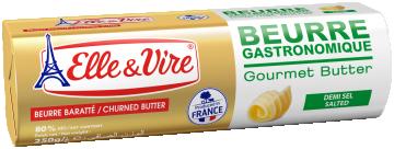 Beurre Gastronomique Rouleau Demi-sel