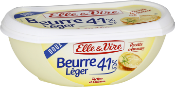 Le Beurre léger 41% doux