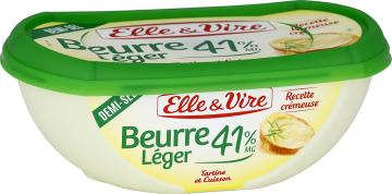 Le Beurre léger 41% demi-sel