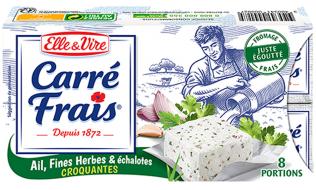 Carré Frais Ail, Fines Herbes & Échalotes Croquantes