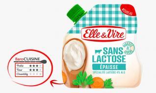 L'épaisse 4% Sans lactose en poche de Normandie