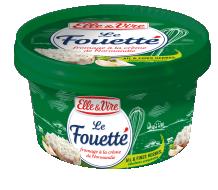 Le Fouetté Ail & Fines Herbes, Échalotes Croquantes