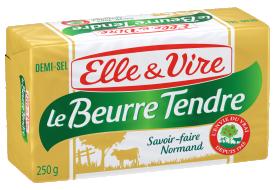 Le Beurre Tendre Plaquette demi-sel