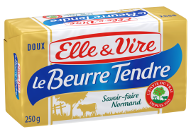 Le Beurre Tendre Plaquette doux