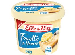 Fouetté de beurre doux