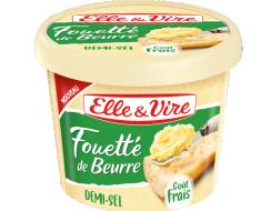 Fouetté de beurre demi-sel
