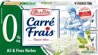 Carré Frais 0% Ail & Fines Herbes