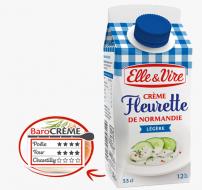 La Crème Fleurette légère de Normandie