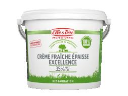 Crème fraîche épaisse Excellence 35% MG
