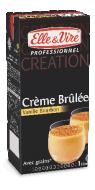 Crème brûlée à la Vanille Bourbon