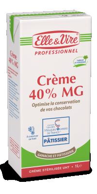 Crème 40% Ganache et Pâtisserie - En boulangerie ...