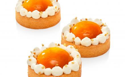 Apricot and Sublime with Almond Tartlet