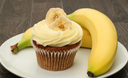 Cupcake tout banane