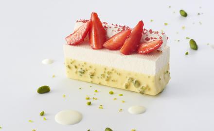 Gourmet strawberry bar