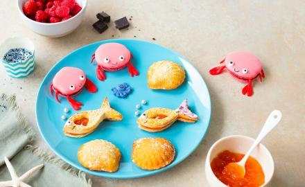 "Assortiment de biscuits ""sous l'océan"""