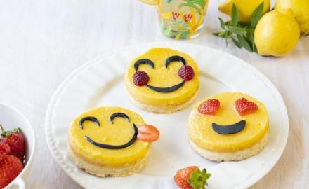 Petits sablés en forme d'emoji