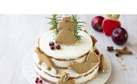 Layer Cake aux pommes et cannelle