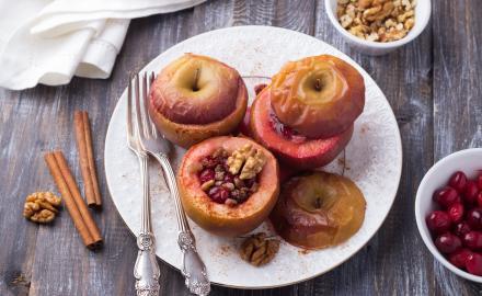 Pommes au four aux saveurs du Québec