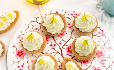 Amuse-bouches à la crème au citron