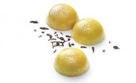 Bonbons de chocolat Thé Earl Grey Bergamote