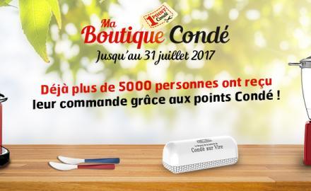 Zoom sur la boutique de Condé-sur-Vire
