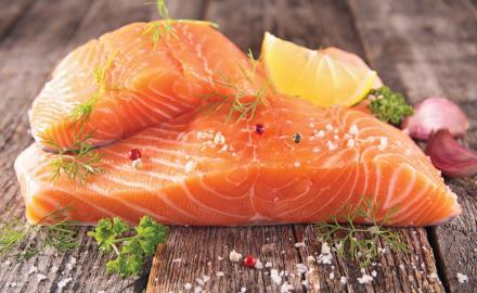 Le saumon dans toutes ses déclinaisons...