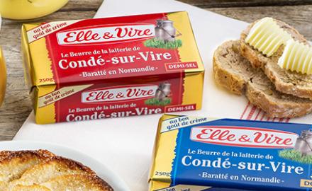 Le Beurre de Condé-sur-Vire disponible en plaquette !