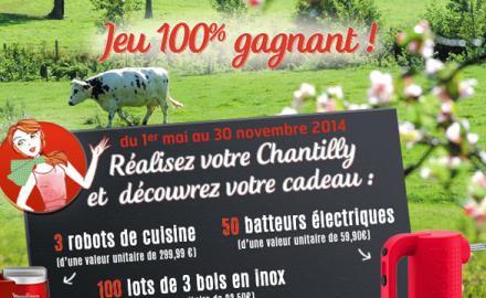 Le Grand jeu Chantilly  !
