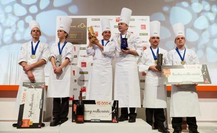 Nicolas Davouze remporte le Bocuse d'Or France 2014