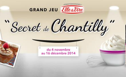 "Grand Jeu ""Secret de Chantilly"" !"