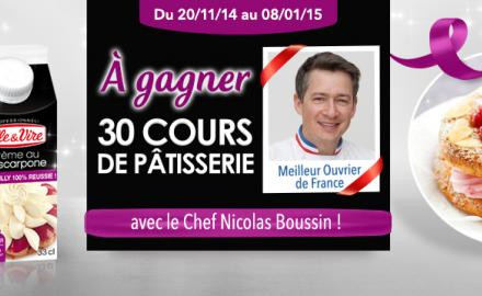 Grand jeu L'Atelier Pâtisserie !