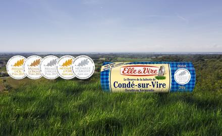 Le beurre doux de Condé-sur-Vire primé pour la 5ème année consécutive !