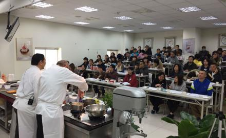 Chef Ludovic Chesnay was in Taiwan!