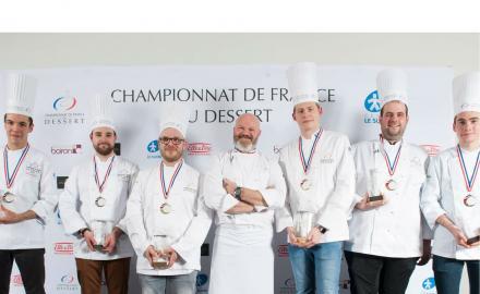 Découvrez les vainqueurs du Championnat de France du Dessert 2017!