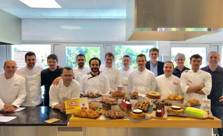 The winners of the Best Artisan Butter Croissant in Spain at La Maison de la Crème!
