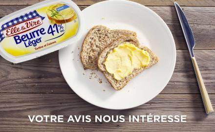 Recherche ambassadeurs pour notre beurre léger 41%