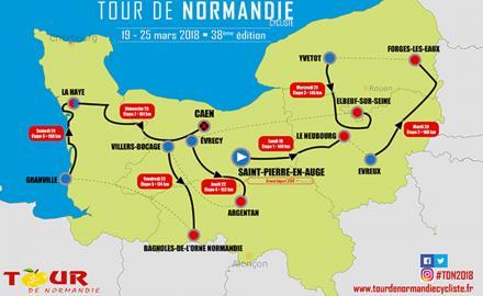 Ça pédale dur en Normandie ?