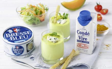 Offres exclusives sur notre crème légère et le Bresse Bleu Léger