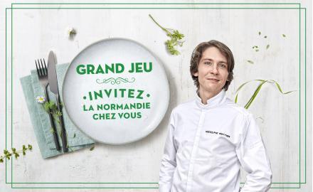 Grand Jeu Invitez la Normandie chez vous !